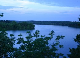 Overlooking Percy Priest